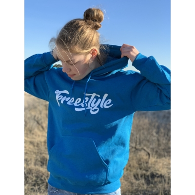Hoodie Freestyle Sapphire blue