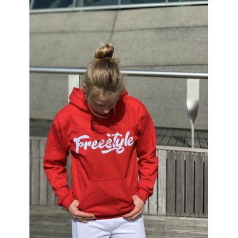 Hoodie Freestyle red